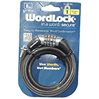 Wordlock 5ft X 8mm Combo Lock