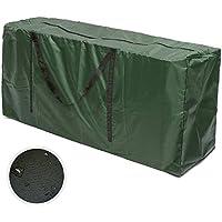 Iraza Tragetasche für Gartenauflagen Gartenmöbelauflagen Aufbewahrungstasche für Polsterauflagen Auflagen Kissen (173x76x51cm)
