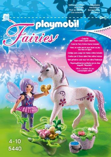 Playmobil 5440 - Futter-Fee mit Einhorn, Morgentau
