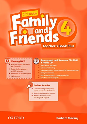 Family and Friends: Level 4: Teacher's Book Plus