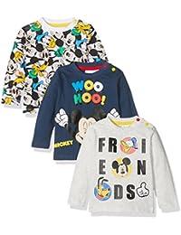 FABTASTICS Disney, Camiseta para Bebés Pack de 3