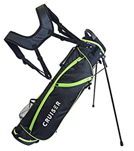 Cruiser Golf CR-Lite Lightweight 7 Inch Stand Bag (Green)