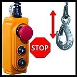 Einhell Seilhebezug TC-EH 1000 (1.600 W, 500 kg auf 18 m, 999 kg auf 9 m, Not-Aus, autom. Bremse, autom. Endabschaltung, inkl. Umlenkrolle + Sicherheitsbügel, 18 m drallfreies Drahtseil Ø 6 mm) für Einhell Seilhebezug TC-EH 1000 (1.600 W, 500 kg auf 18 m, 999 kg auf 9 m, Not-Aus, autom. Bremse, autom. Endabschaltung, inkl. Umlenkrolle + Sicherheitsbügel, 18 m drallfreies Drahtseil Ø 6 mm)
