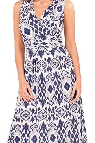 Pistachio Damen Collegejacke Kleid blau blau Small Aztec Navy - Blue