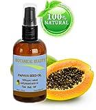 Papaya Kernöl. 100% reine / natur / unverwässerte / verfeinert kaltgepresstes Trägeröl - 60 ml. Für Haut, Haare und Lippenpflege.