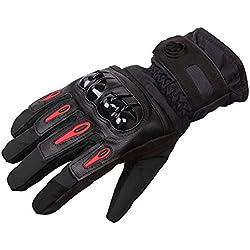 Guantes de moto DOXUNGO unisex impermeables, a prueba de golpes calientes para otoñ o e invierno para pantalla tá ctil