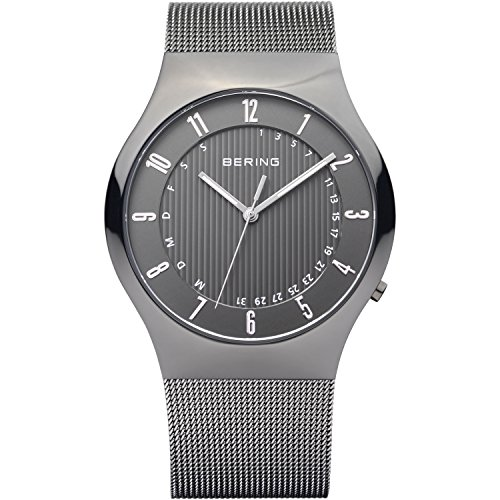 Bering Armbanduhr analog Quarzwerk Edelstahl beschichtet 51840-077
