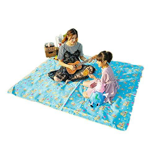 Azsunnyshow 200 x 200 cm Camping Matten feuchtigkeitsfest Outdoor Picknick Strand Matte Baby Klettern Plaid Decke Strand Yoga Baby Klettern Oxford Pad