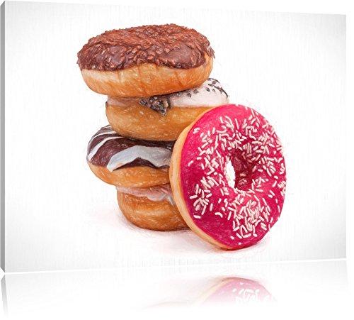 doux-donuts-bunstift-effet-format-120x80-sur-toile-xxl-enormes-photos-completement-encadrees-avec-ci