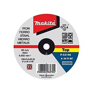 Makita P-52233 – Disco de corte metal 230mm x 2.0mm