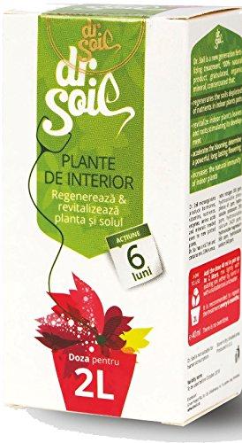Dr.Soil Natürliche Langzeitdünger Behandlung mit höher Konzentration von Bio-Humus für alle Topfpflanzen, 40 ml (Anlage-therapie)