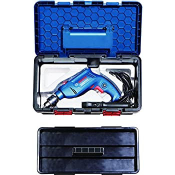 Bosch Freedom Kit GSB 550-Watt Impact Drill Kit (Blue, 91-Pieces)