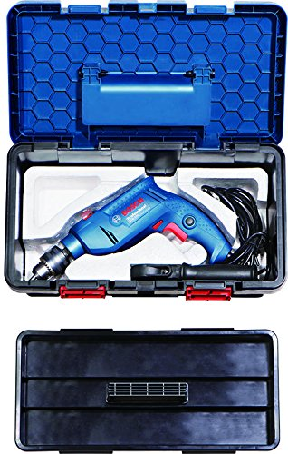 Bosch Freedom Kit GSB 550-Watt Impact Drill Kit (Blue, 91-Pieces)  available at amazon for Rs.3195