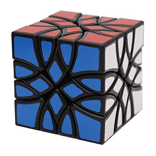 HJXDtech Super Intractable Abnormal Magic Cube Creative 8-Axis Rotation Corner Speed Mosaic Cube