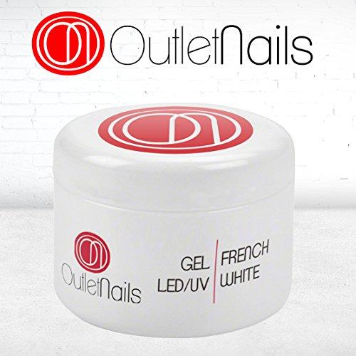 Gel French White UV/LED 50ml Uñas / Gel Francesa