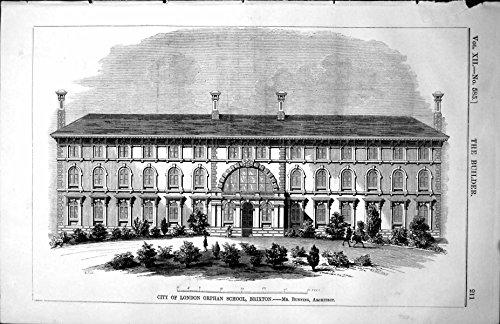 stampi-il-sig-bunning-architect-1854-211l112-di-pianificazione-di-brixton-della-scuola-dellorfano-di