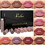 Rechoo Rossetti 12 Pcs Matte Rossetto Lunga Durata Impermeabile Liquid Lipstick Make Up Revolution