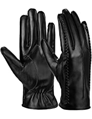 Vbiger Womens Smartphone Gloves Texting Touch Screen Gloves Warm Driving Gloves