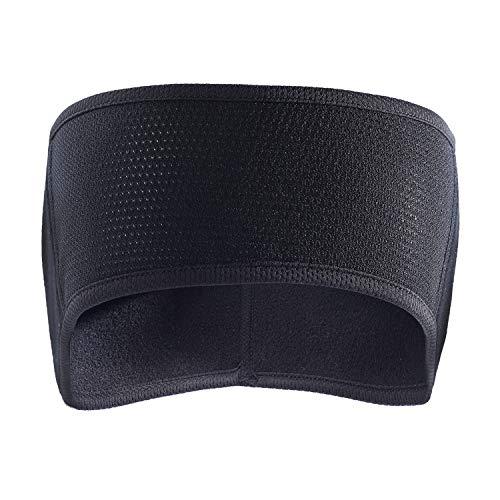 AYPOW Fleece Ohrwärmer Stirnband, Leichte, warme Full Ear Ohrenschützer Wintersport Stirnbänder Laufschweißbänder für Erwachsene Männer Frauen
