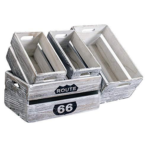 Rebecca Mobili 4er Set Holzboxen...