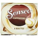 Senseo Gourmands Cappuccino 8 dosettes de 92 g - Lot de 5 (40 dosettes)
