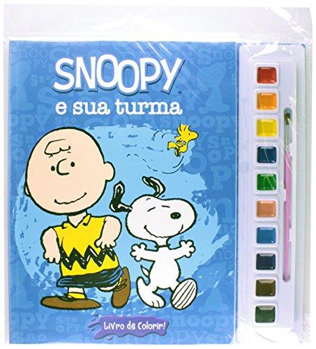 Snoopy e Sua Turma - Coleção Aquarela (Em Portuguese do Brasil)