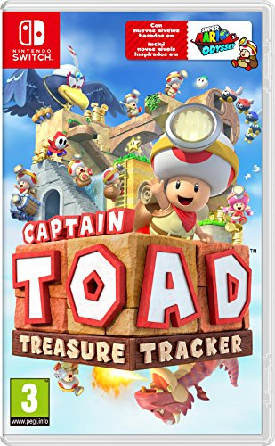 Captain Toad: Treasure Tracker (precio: 33,29€)