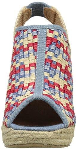 Kaporal Damen Romane Pumps Multicolore (Multicolor Denim)