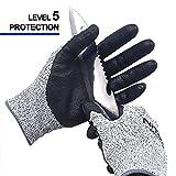 NiTex CUT5-L1 Sicher Schneiden Beständig Nicht Schneiden Handschuhe Vermeidung Schnitte Professional Grade Level 5 Schutz EN388 Zertifiziert (L, 1 Paar)
