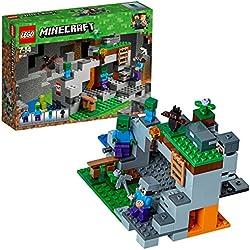Lego Minecraft la Caverna dello Zombie,, 21141