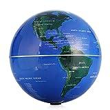Globo Mapamundi Giratorio Automático 6'Globo de giro automático Mapa del mundo terrestre Esfera Regalo de Navidad Decoración de oficina en el hogar Educativos para niños