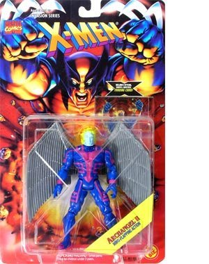 Invasion Series Serie X-Men - Archangel II with Trading Card (Xmen Trading Card Game)