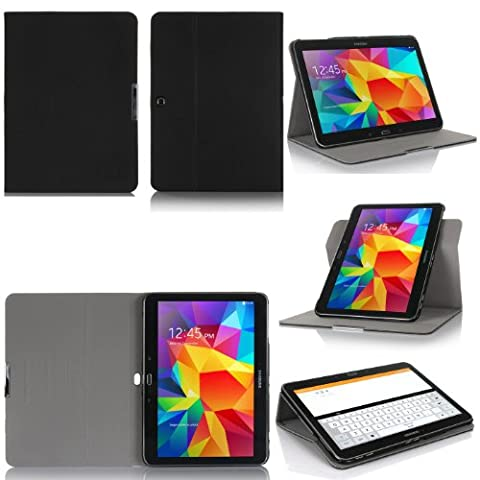 Samsung Galaxy Tab 4 10.1 - Housse noire protection UltimKaz