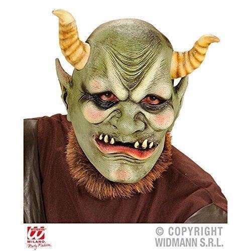 Latexmaske EVIL ORC / Ork Maske Fantasy / Halloweenmaske / Fasching / Halloweenkostüm (Maske Orc)