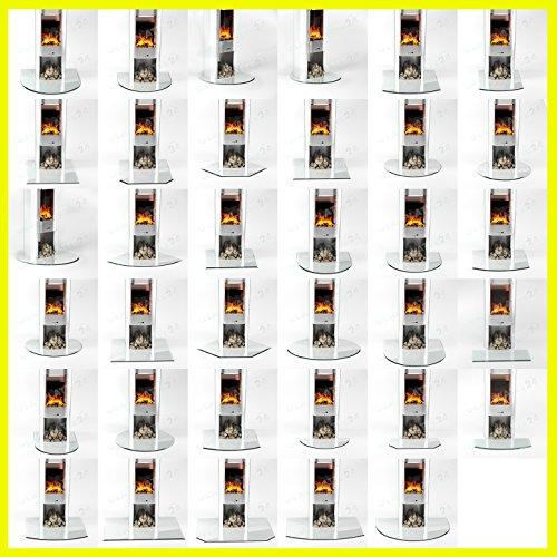 Funkenschutzplatte Rundbogen 6mmx 1200mmx 1000mm mit 18mm Facette und Dichtlippe Glasplatte Bodenplatte Kaminplatte Funkenschutz Ofenplatte Kaminglas Herd Ersatz Glas
