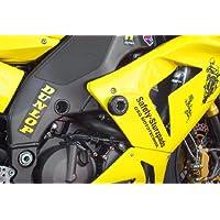 Motorrad Motordeckel Motorabdeckung Sturzpads Set f/ür Kawasaki ZX-10R Ninja 2011-2017