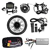 Vogvigo 26 ' 48V-1500W kit di conversione per ruota anteriore per bicicletta elettrica , mozzo della bicicletta per bici elettrica con display LCD senza spazzole