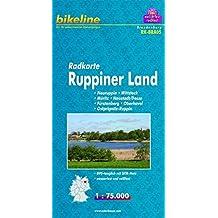 Radkarte Ruppiner Land 1:75.000, wasserfest und reißfest, GPS-tauglich mit UTM-Netz (Bikeline Radkarte)