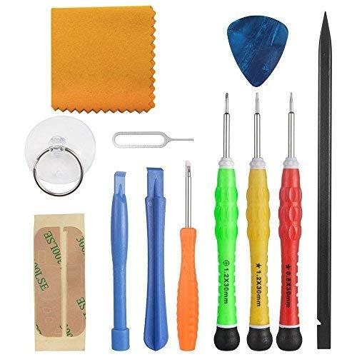 Zacro 13 in 1 Premiumer Reparatur Werkzeug Set Kit für iPhone, iPad, iPods und andere Smartphones oder Kleingeräte