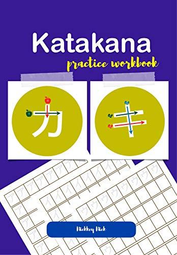 Book cover image for Katakana practice workbook
