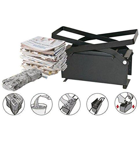 TAS Papierbrikettpresse Presse / presst Altpapier in platzsparende Briketts