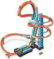 Hot Wheels Pista y Garaje para Coches de Juguetes, Regalo para Niños y Niñas mayores de 5 Años (Mattel GJM76),