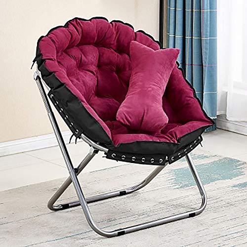 Kleiner Sofa Stuhl Computerstuhl Klappstuhl Lazy Chair Modern style9 rot -