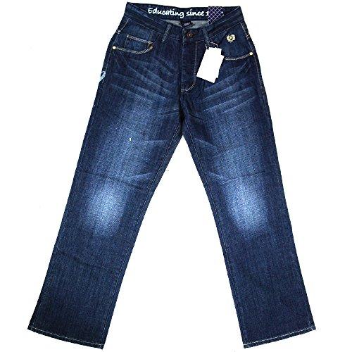 phat-farm-jeans-skater-hose-herren-grosse-30-sand-blau