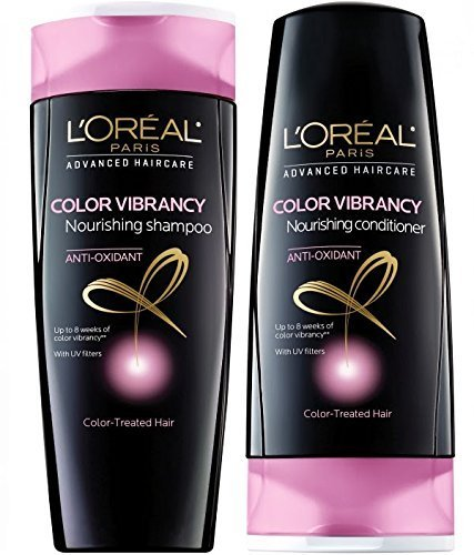 L'oreal Advanced Haircare Color Vibrancy Shampoo & Conditioner, 12.6 Fl. Oz. by \\