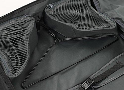 Rock Tri-Fold Portatrajes–54cm, negro (Negro) - GS-0011