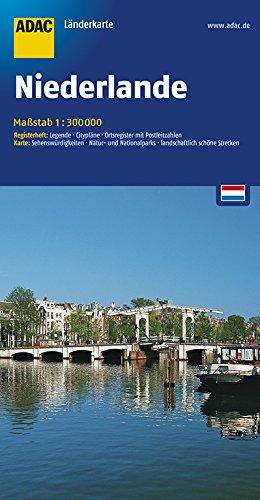 ADAC Länderkarte Niederlande 1:300.000