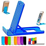 #5: Mobile Stand Holder (Pack of 2) Universal Adjustable 4 Steps Fold-able for All Phone Tablet Desk (Assorted Color)