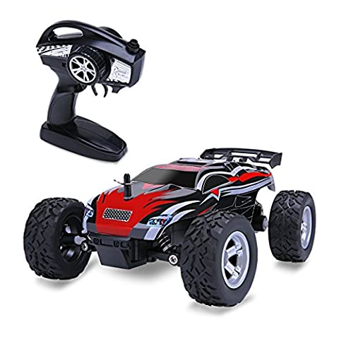 Distianert 1/24 Scale 2WD RC Car, Electric Racing Buggy(RTR) with High Speed of 15km/h, 2.4GHz Radio Controlled Vehicle for Kids and