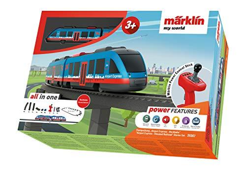 """Märklin my world 29307 - Startpackung \""""Airport Express - Hochbahn\"""", Spur H0"""